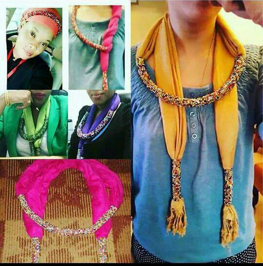 MH FASHION : vente de foulards magiques assortis de colliers