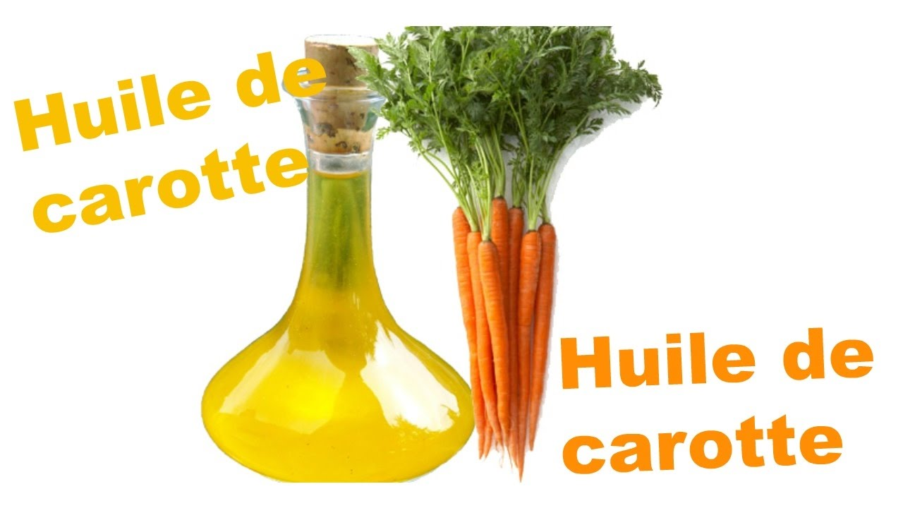 L'huile de carotte : un correcteur de teint par excellence