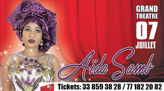 Grand Théatre : Aïda Samb se lance après six ans de carrière solo