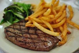 Les rayures sur les steaks hachés
